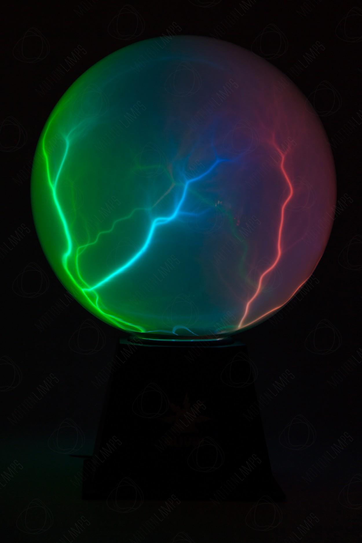 Электрический плазменный шар Тесла Alive Nebula XL 20см