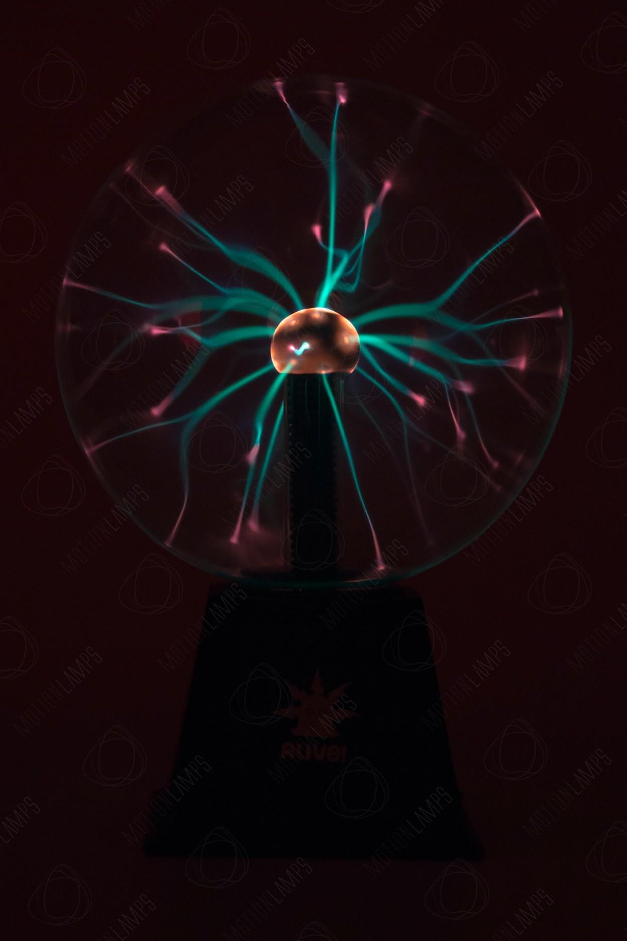 Электрический плазменный шар Тесла Alive Greentech XL 20см