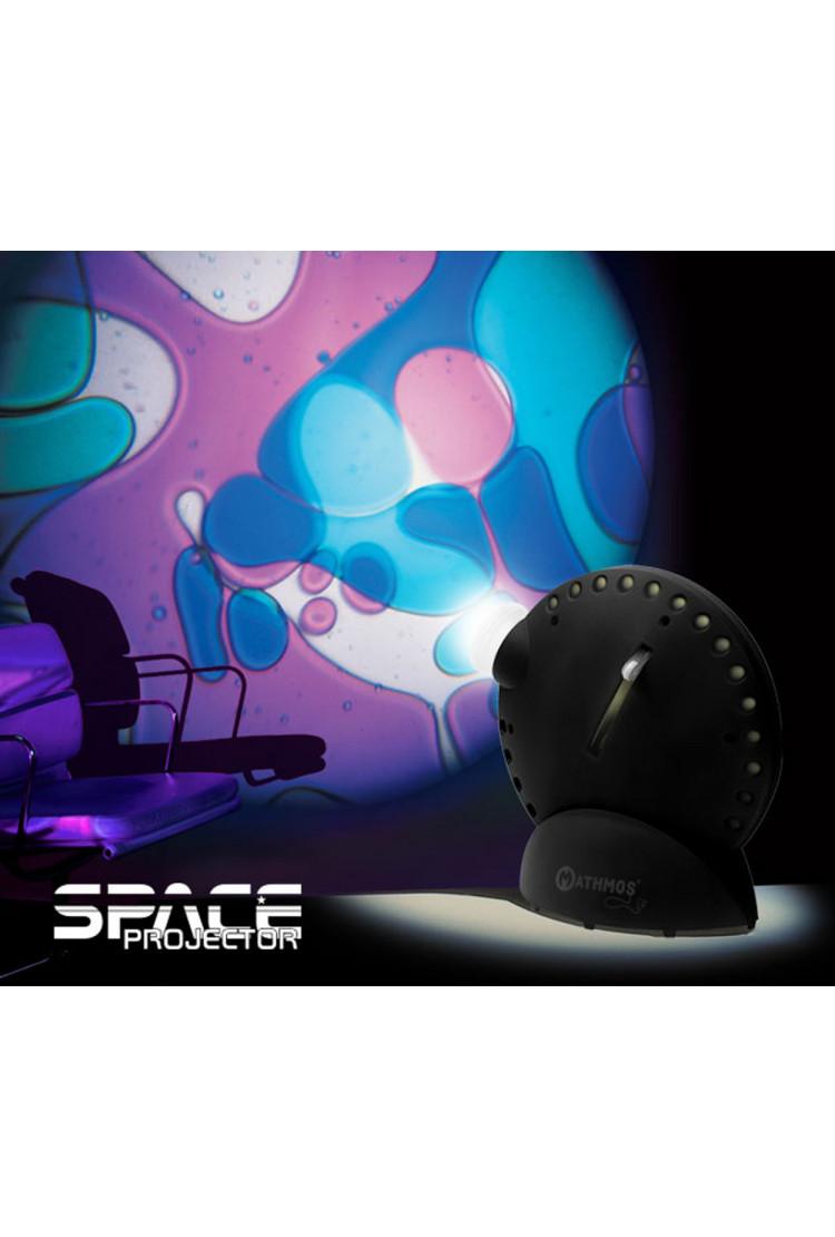 Mathmos Space Projector фиолетово-синий