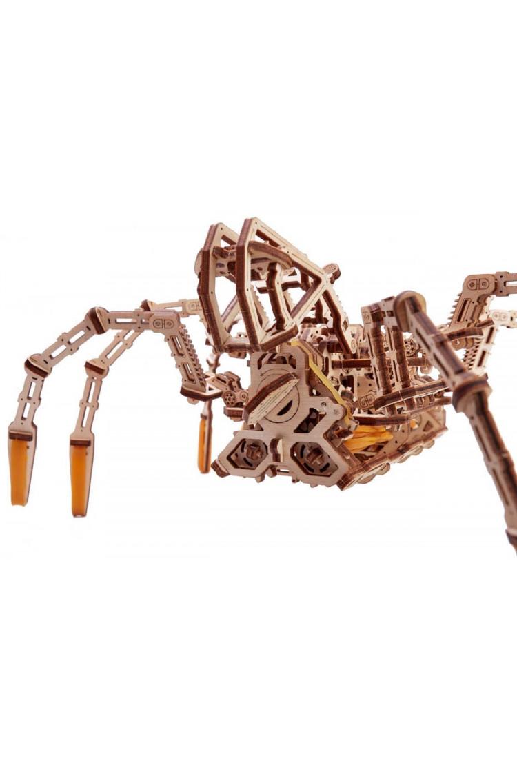 Механическая сборная модель Wood Trick Космический Паук (25х32х12,5 см)