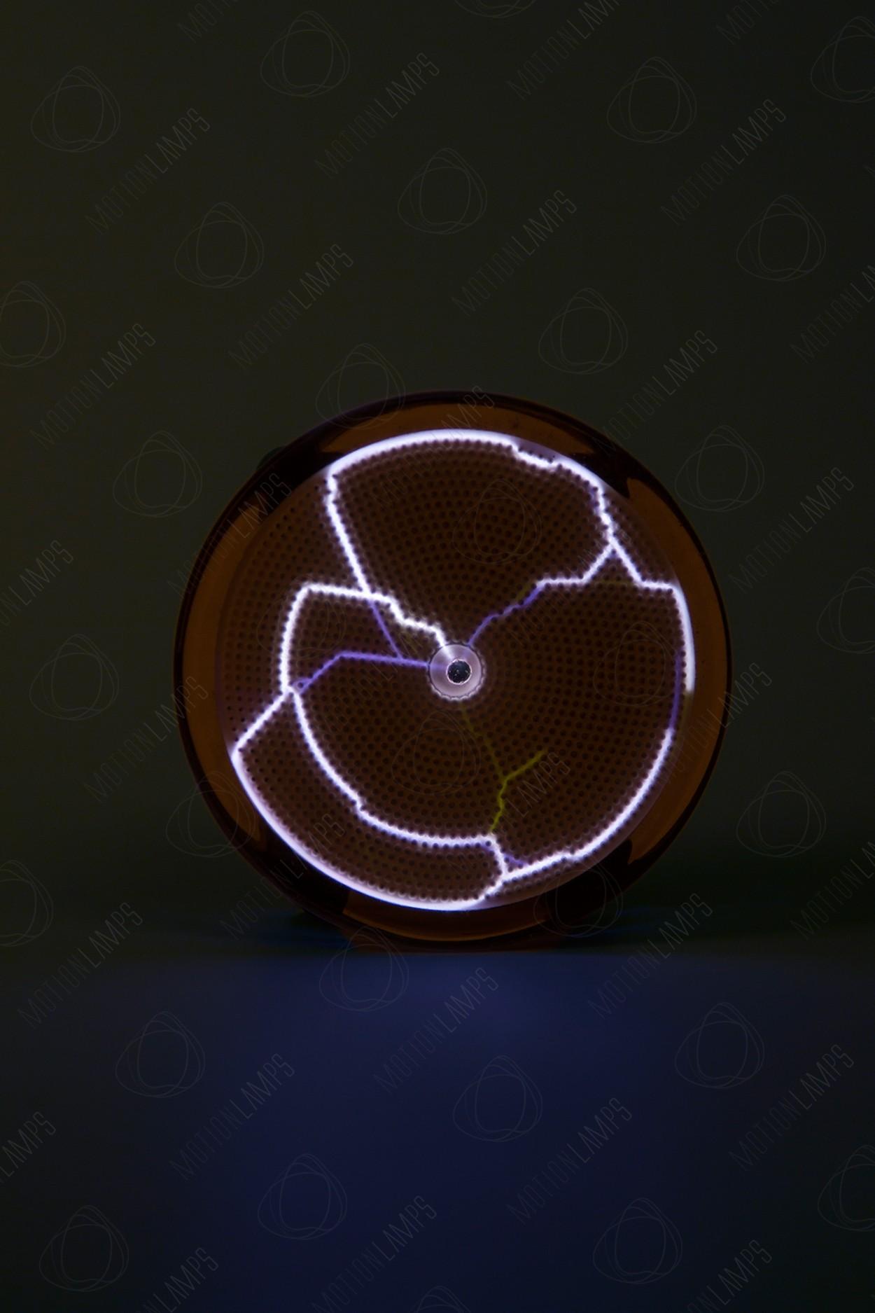 Карманный плазменный диск Тесла Белый (Pocket) D - 7см
