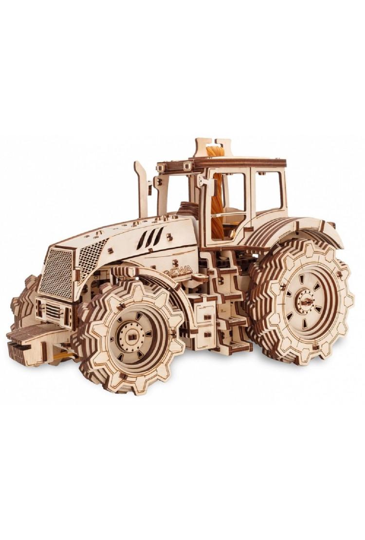Конструктор деревянный 3D EWA Трактор (315x173x207 мм)