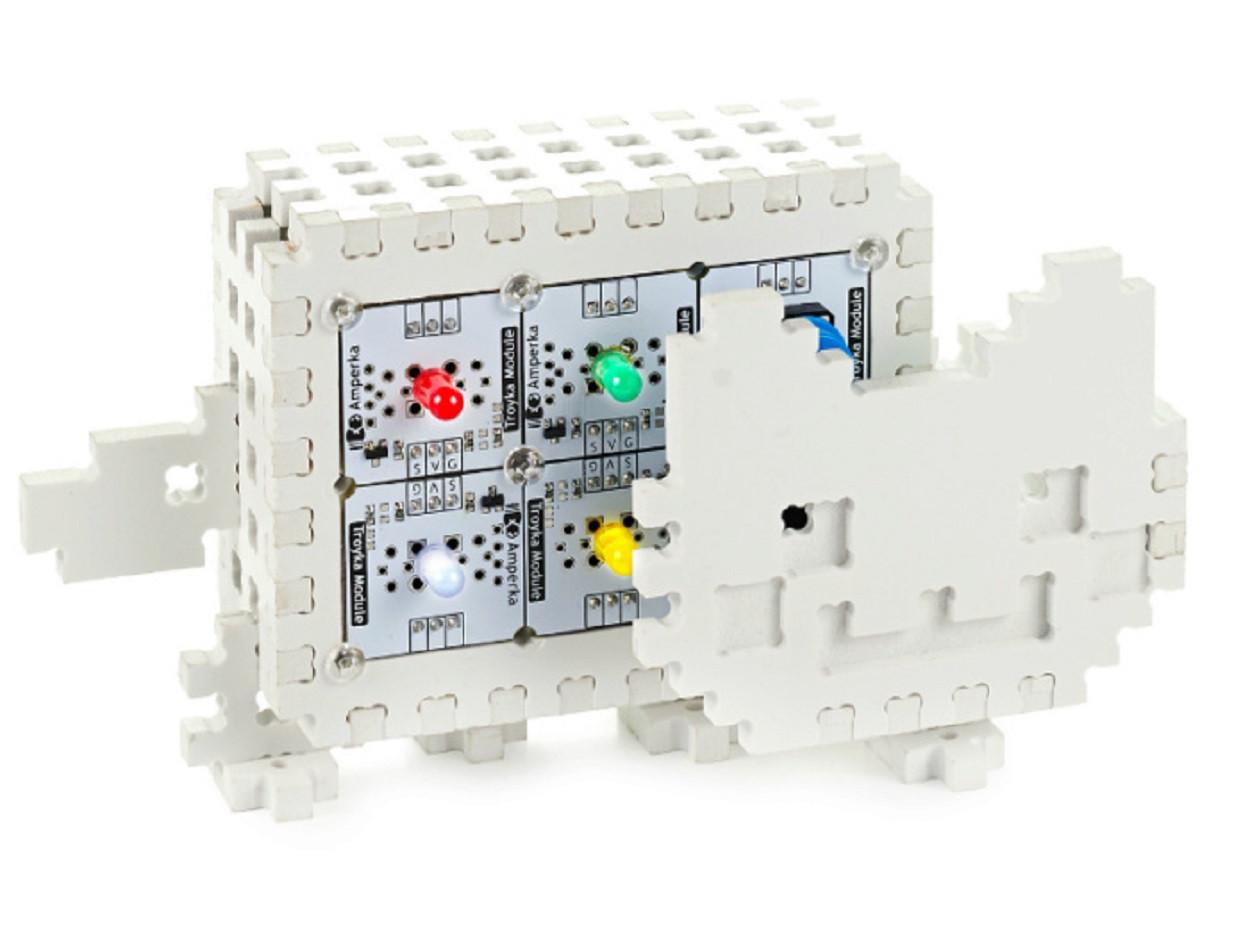 Конструктор на основе платформы Arduino для сборки умного котика Nyan