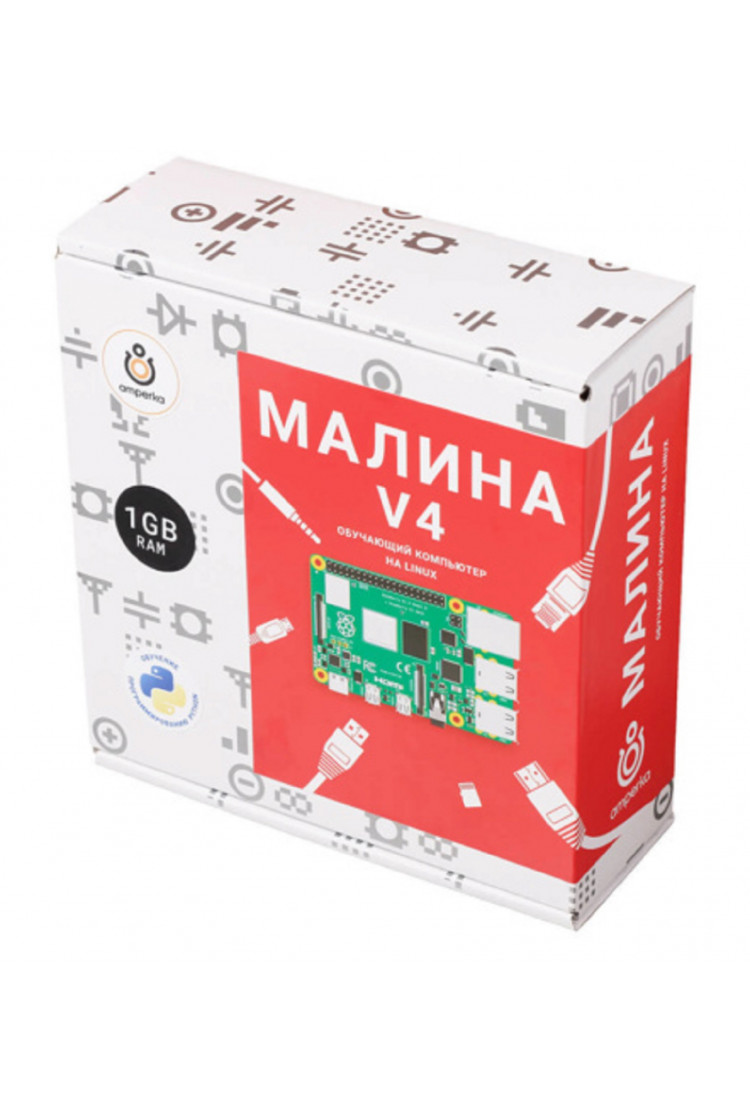 Набор Амперка Малина v4 (1 ГБ)
