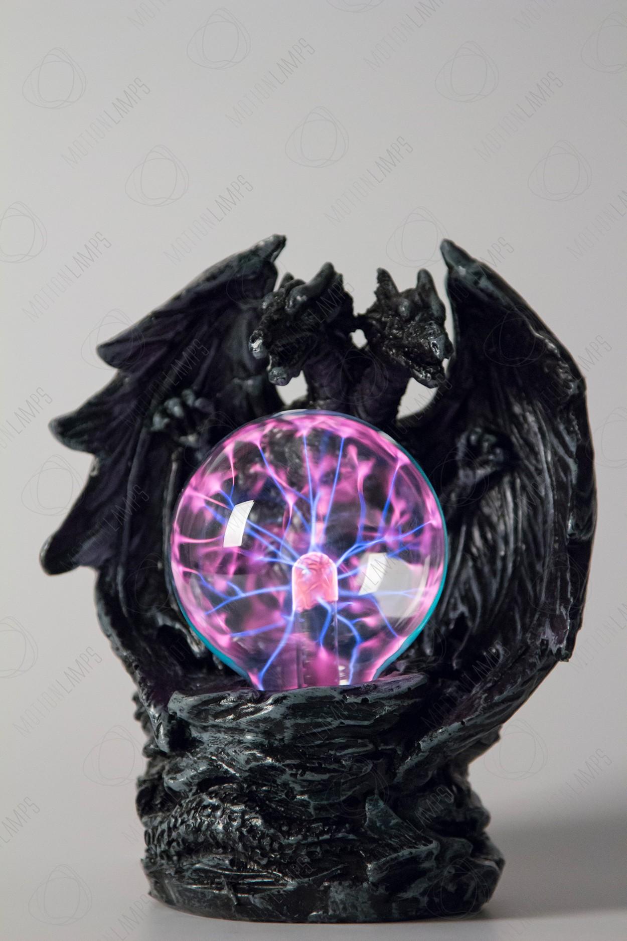 Электрический плазменный шар Тесла Двуглавый Дракон (D -8см)