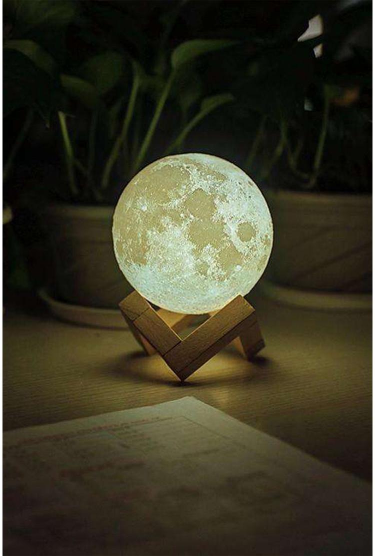 Ночник луна 9 см