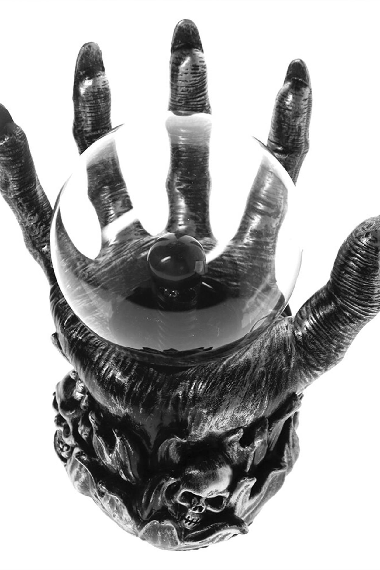 Плазменный шар Рука мертвеца (D - 12см)