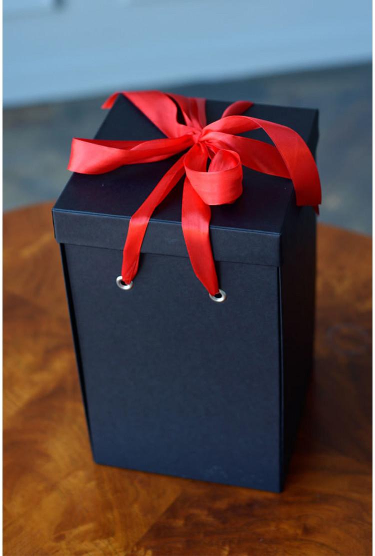 Подарочная коробка Premium, черная (33*21*21) WoW Эффект