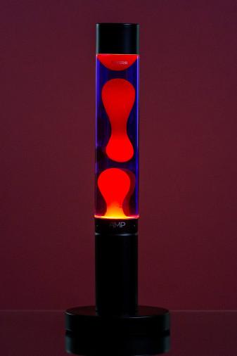 Лава лампа Amperia Slim Оранжевая/Фиолетовая(39 см)