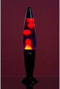 Лава лампа Amperia Rocket Оранжевая/Фиолетовая (35 см)