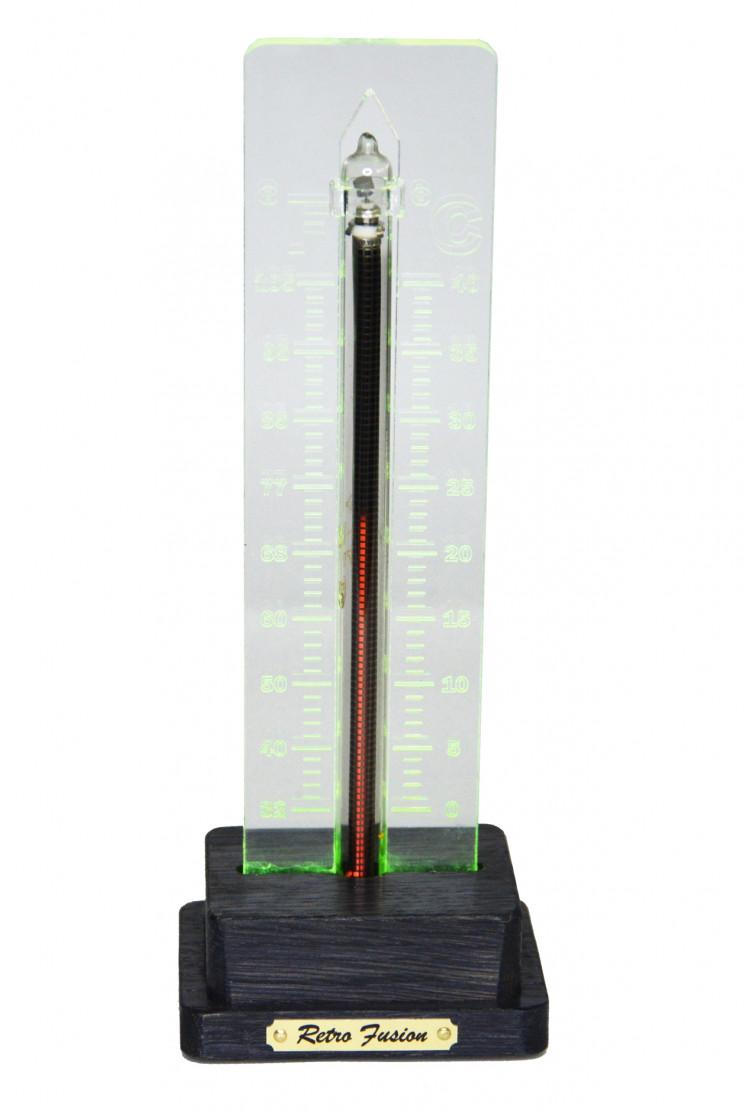Термометр на газоразрядном индикаторе (темный)