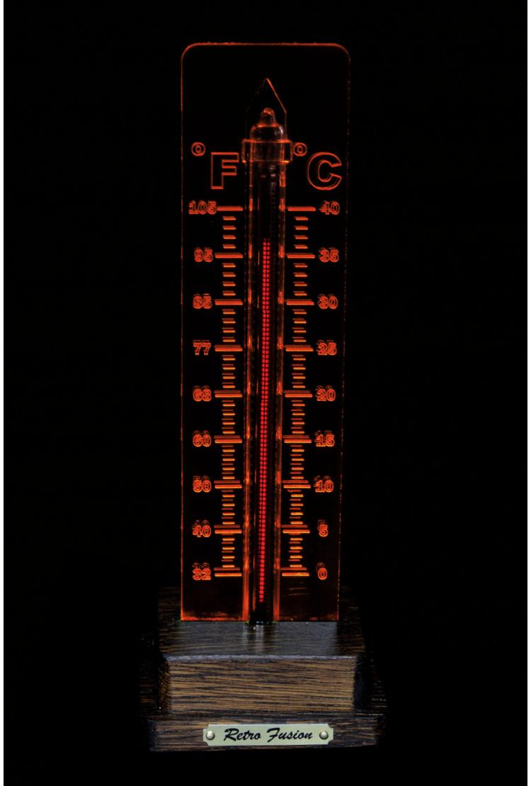 Термометр на газоразрядном индикаторе (коричневый)