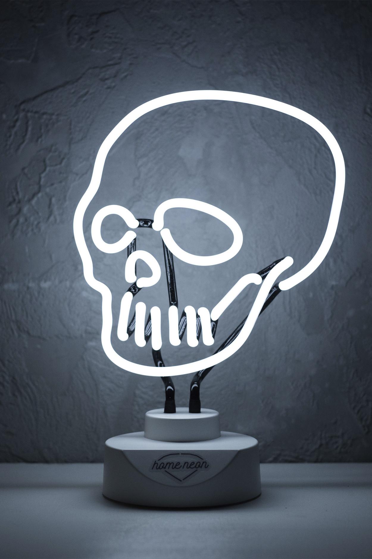 "Неоновая лампа ""Черепушка"""