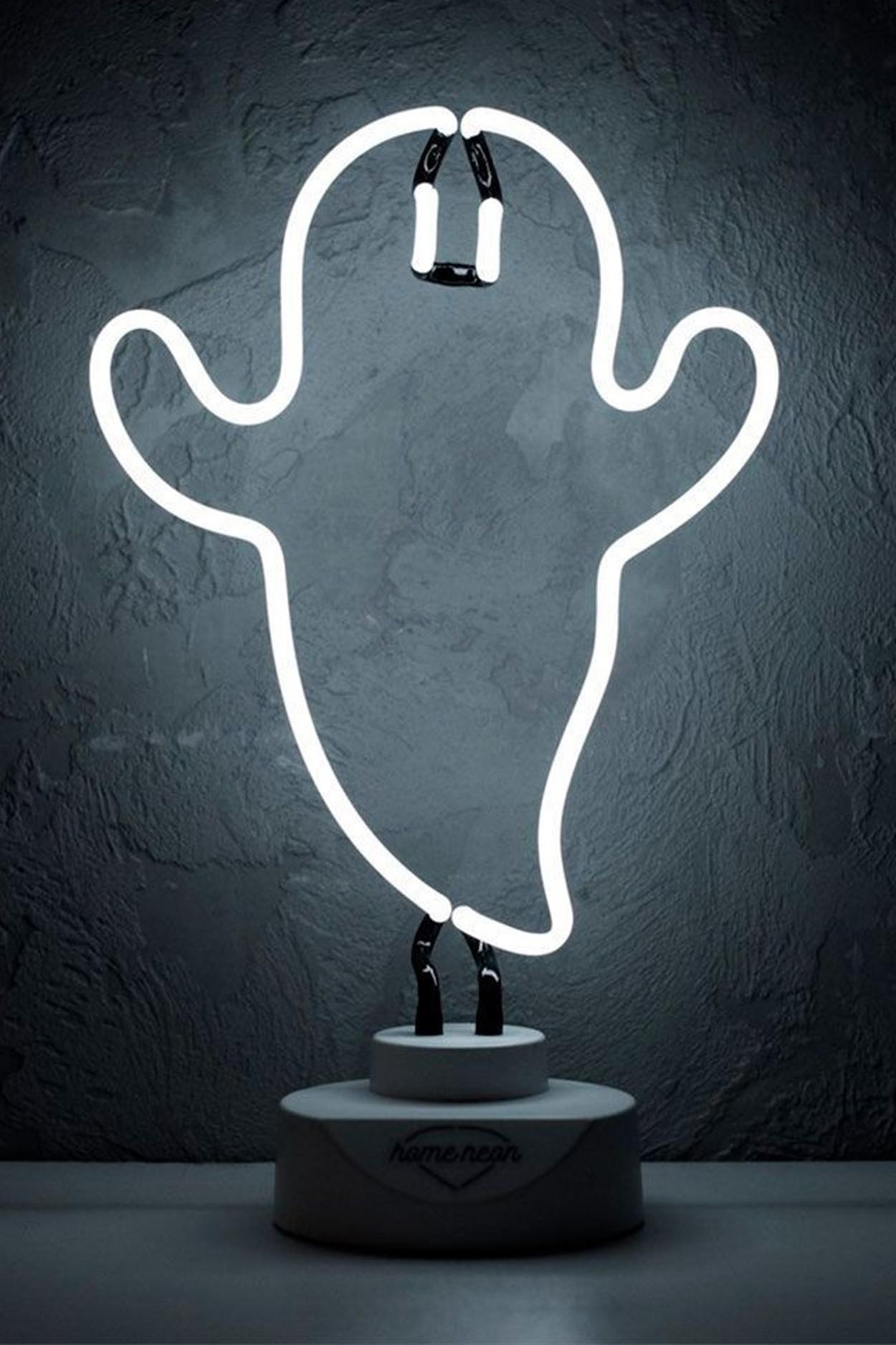 """Неоновая лампа """"Привидение"""""""