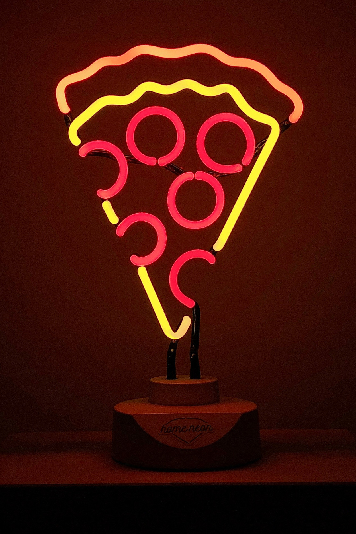 """Неоновая лампа """"Пицца"""""""