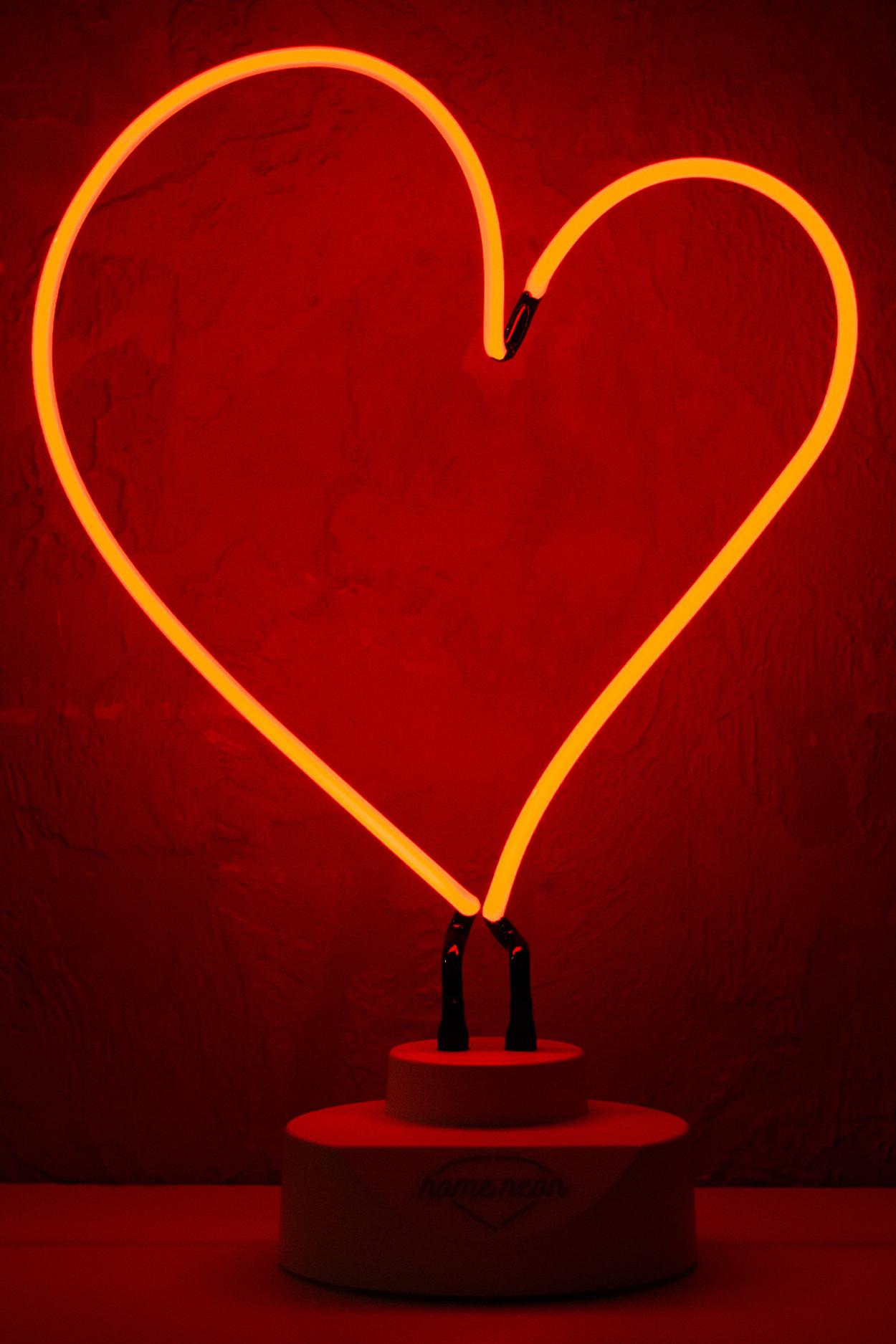 """Неоновый ночник """"Сердце"""""""