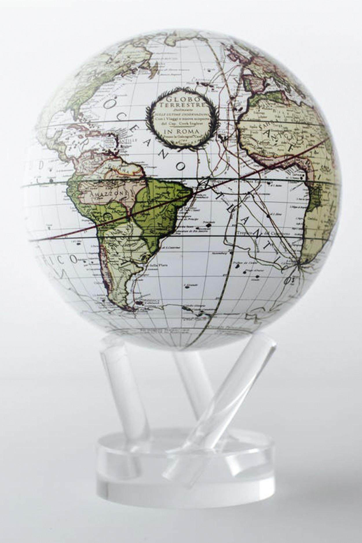 Глобус самовращающийся Mova Globe d12 Ретро