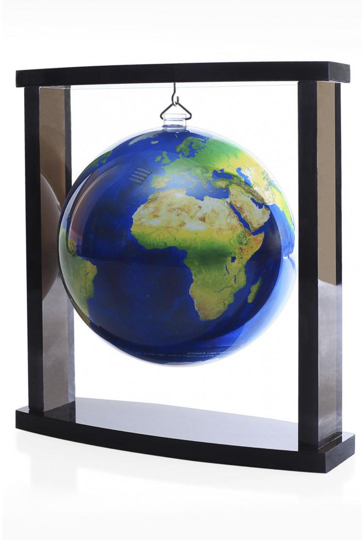 Самовращающийся глобус Mova d12 на подвесе Земля из космоса