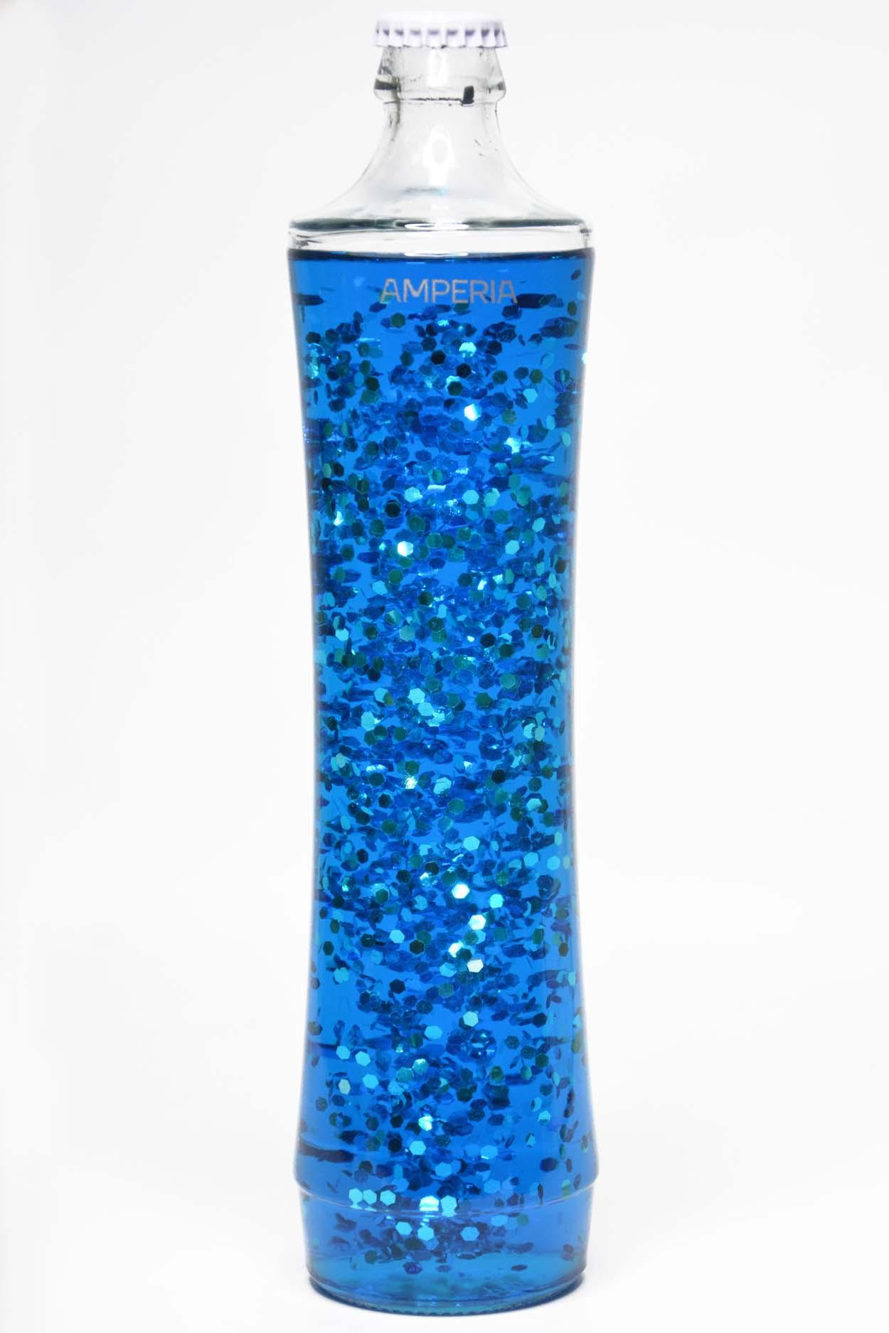Колба Amperia для лава лампы Grace (39 см) Сияние Синее (27*7)