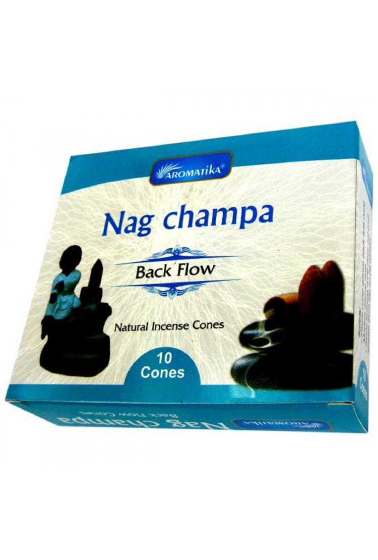 """Благовония пуля """"Nag Champa НАГ ЧАМПА"""" (стелющийся дым), масала"""