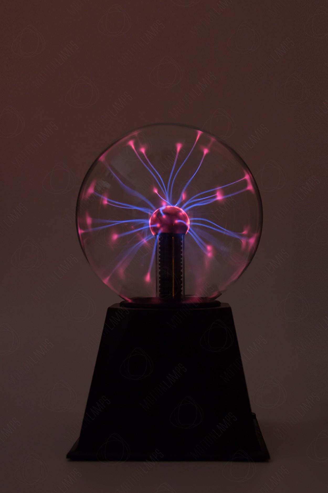 Электрический плазменный шар Audio (D - 12см)