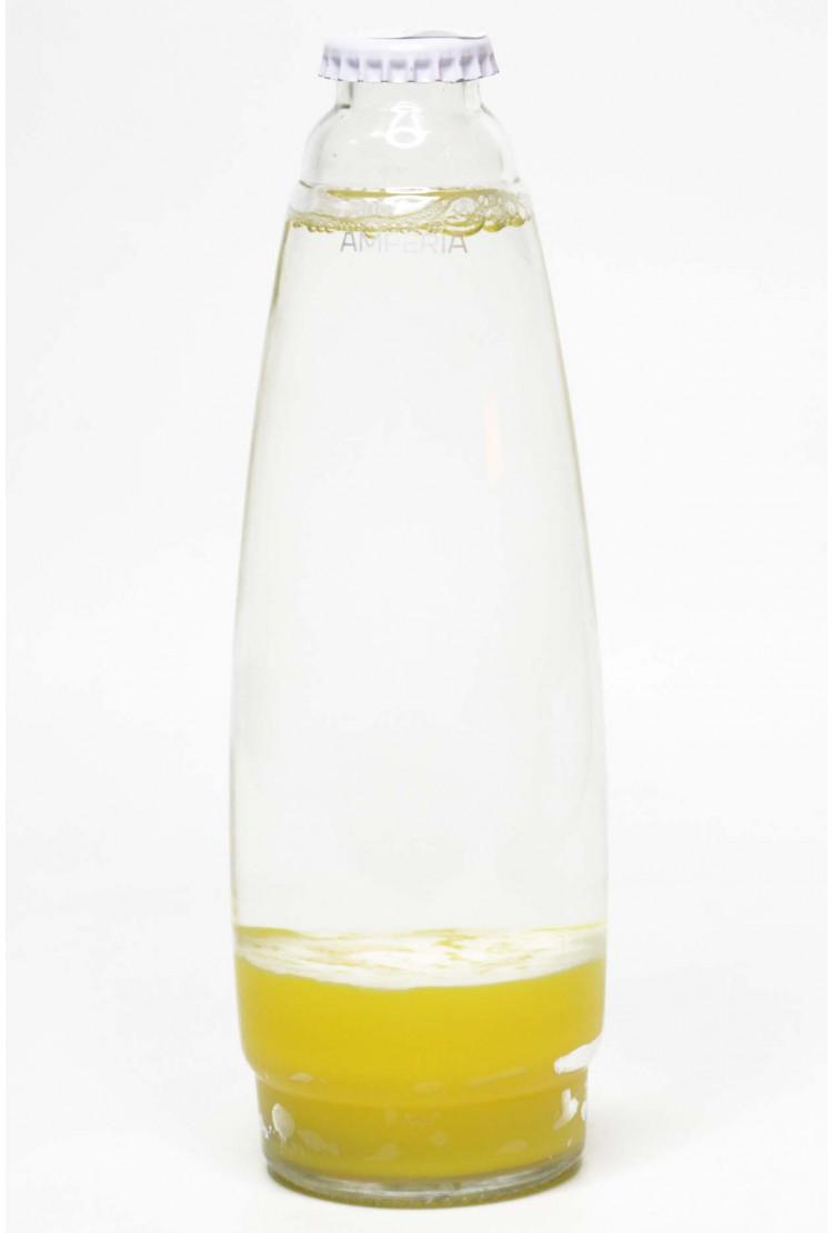 Колба Amperia для лава-лампы 35 см желтая/прозрачная (19*5,5)