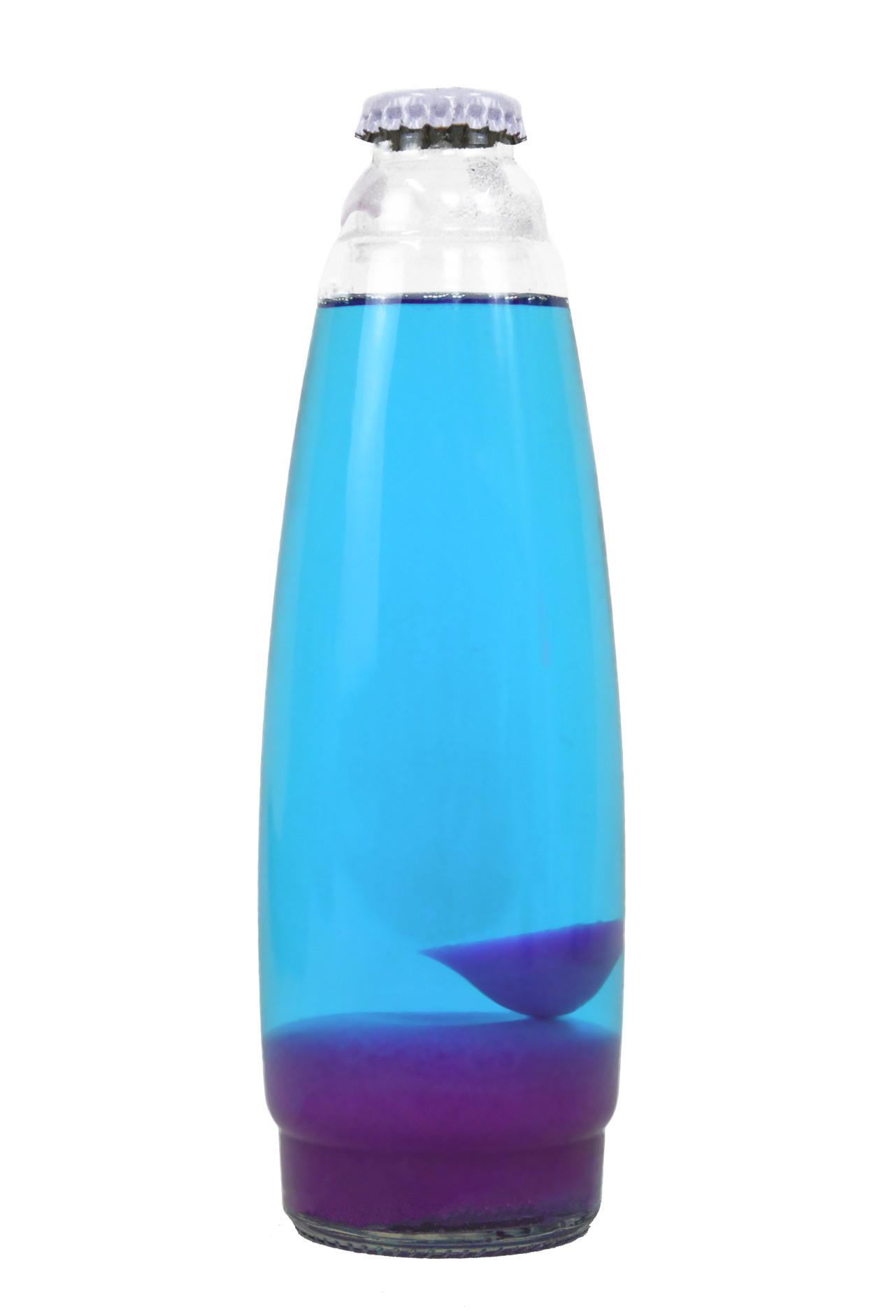 Колба Amperia для лава-лампы 35 см Розовая/Синяя (20*5,5)