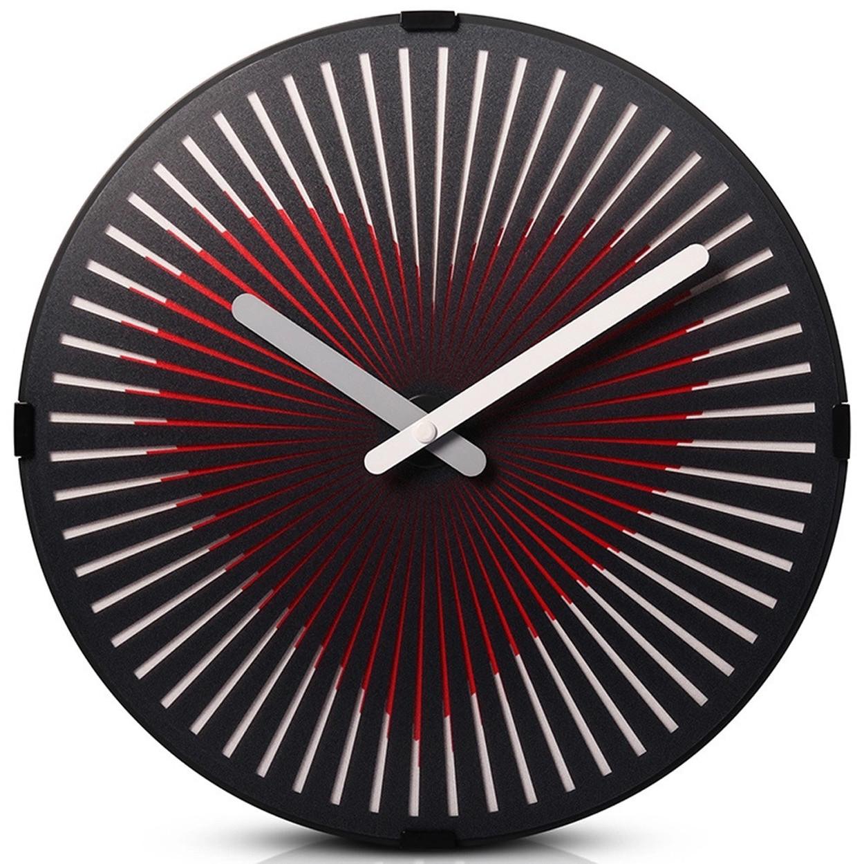 Анимационные часы Air-Flip Сердце (D30х6 см)