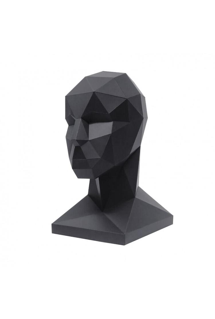 """Оригами фигура """"Голова для аксессуаров"""""""