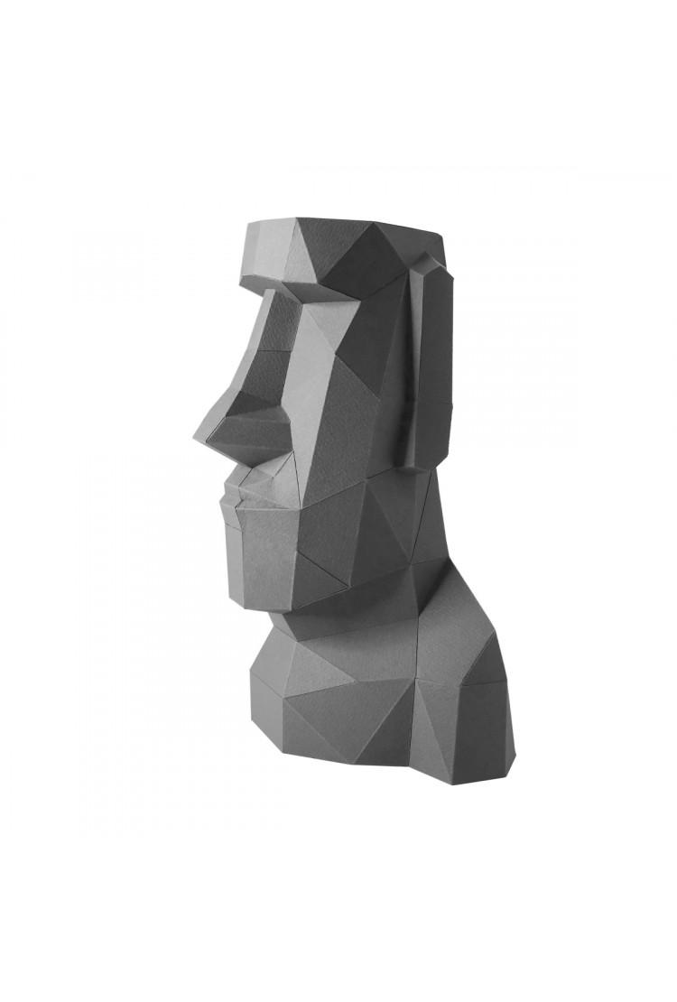 """Оригами фигура для сборки """"Моаи"""""""