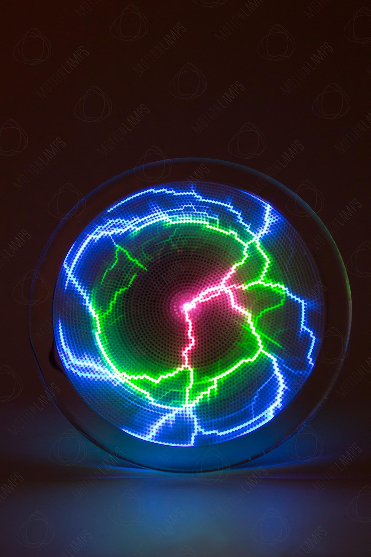 Электрический плазменный диск Тесла Rainbow D - 20см