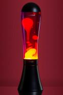 Лава-лампа Amperia HEAVY Оранжевая/Фиолетовая (75см)