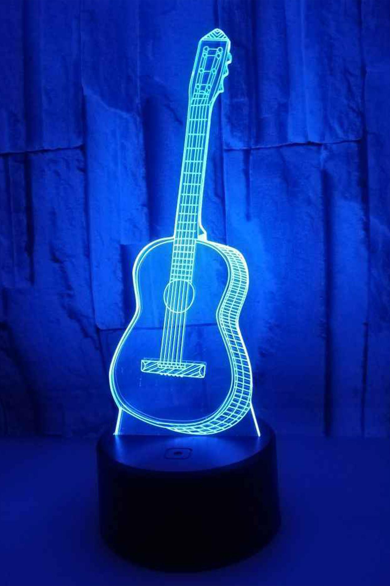 3D ночник Гитара 7 цветов