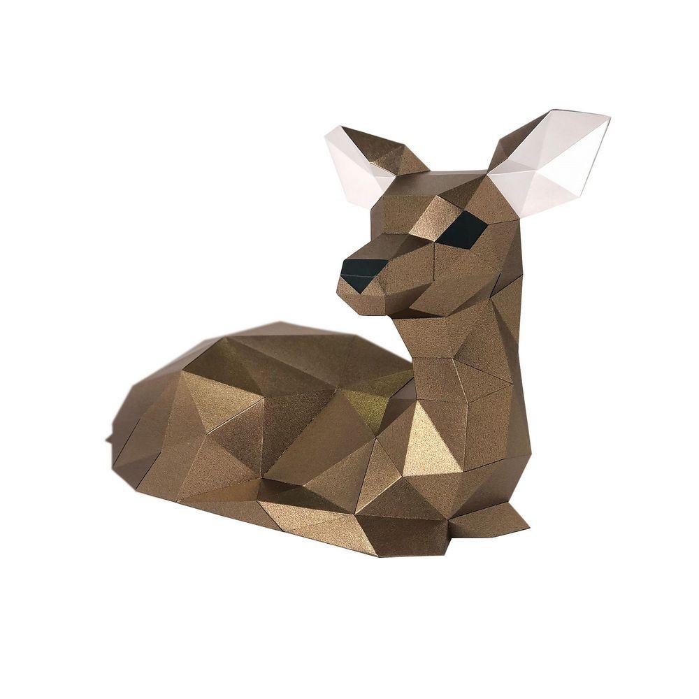 """Оригами фигура для сборки """"ОЛЕНЁНОК"""""""
