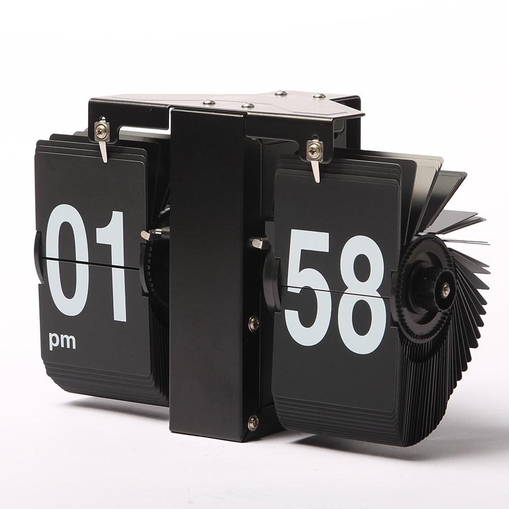 Перекидные часы Volk black (14x21x8 см)