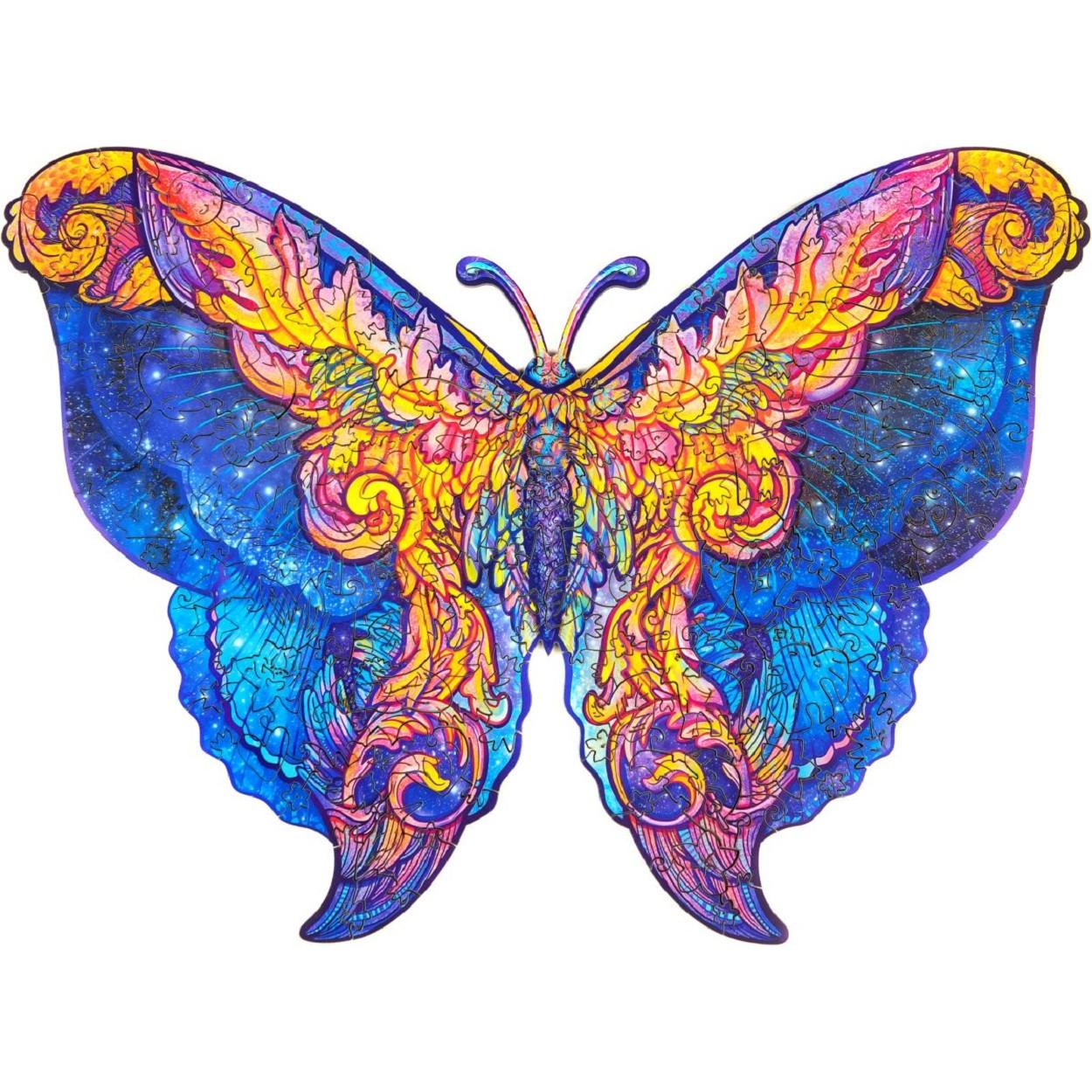 Unidragon Межгалактическая бабочка размер M (A4) 26*32 см