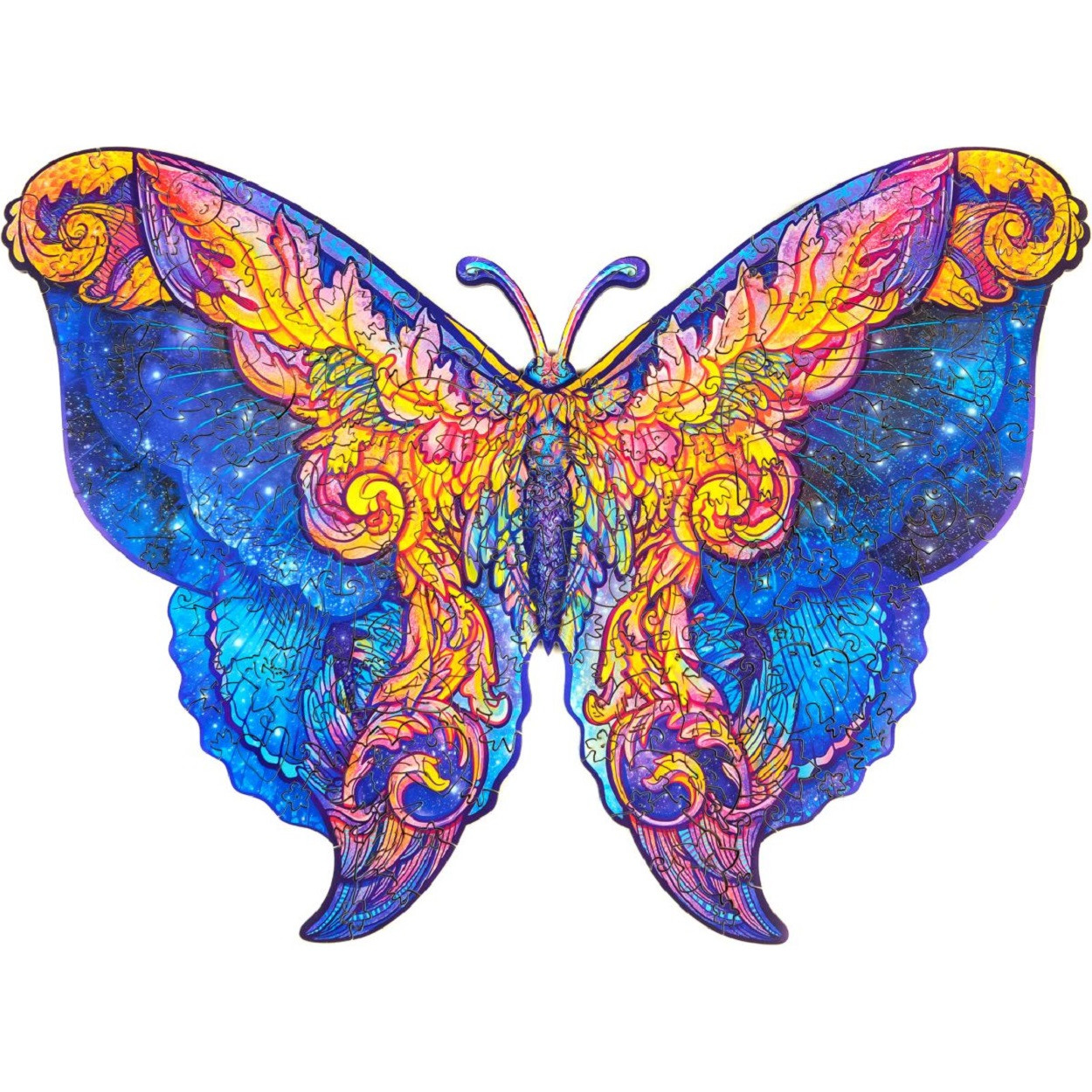 Unidragon Межгалактическая бабочка размер KS (A3) 31*40 см