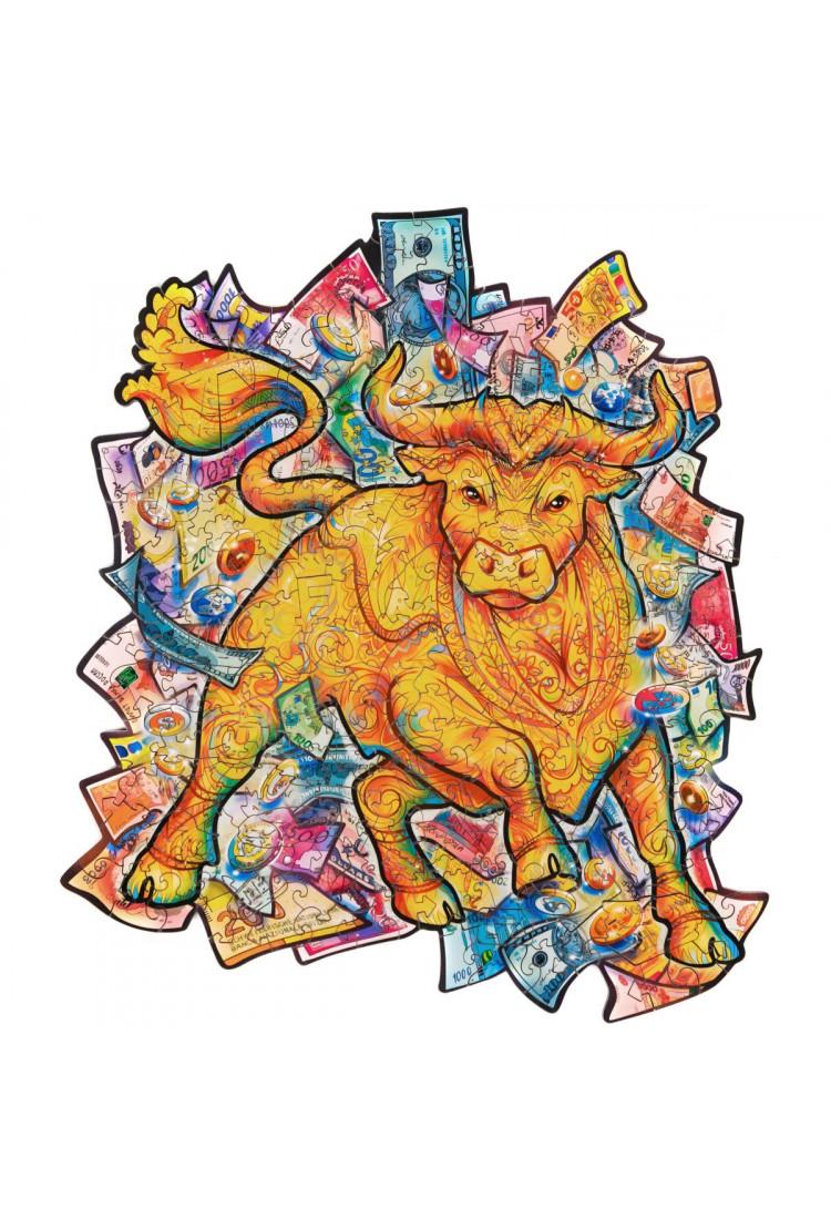 Unidragon «Процветающий бык» размер S (A5) 18*24 см