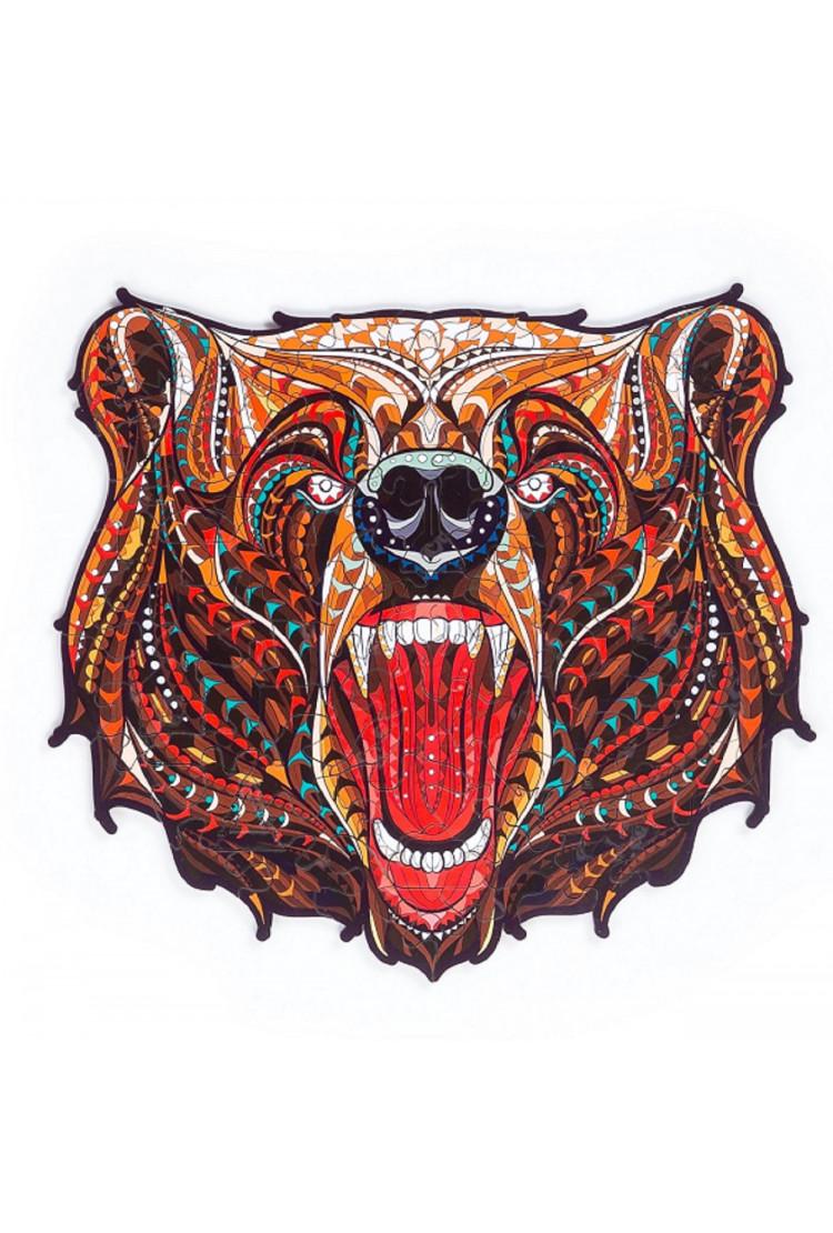Пазл «Сказочный медведь» размер S, 102 детали
