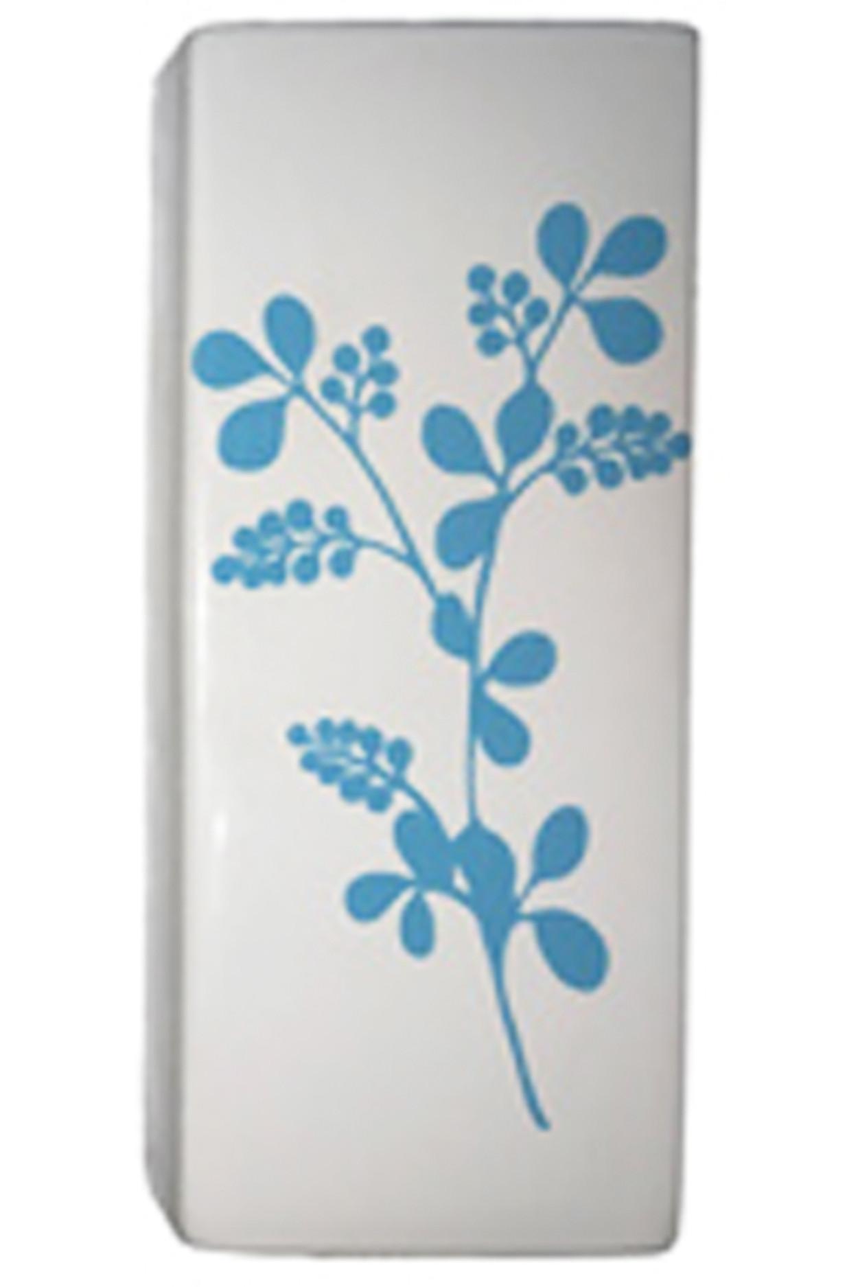 Керамический увлажнитель на батарею Голубой цветок
