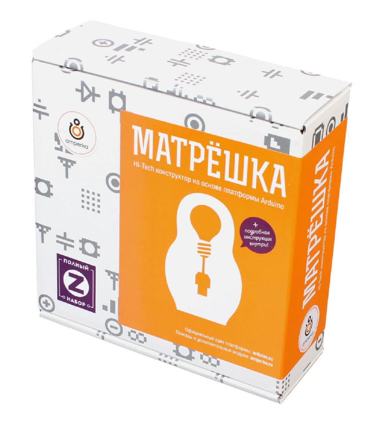 Образовательный конструктор Матрёшка Z (Iskra Uno)
