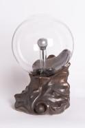"Плазменный шар ""Каменный цветок"" (16см) мраморный"