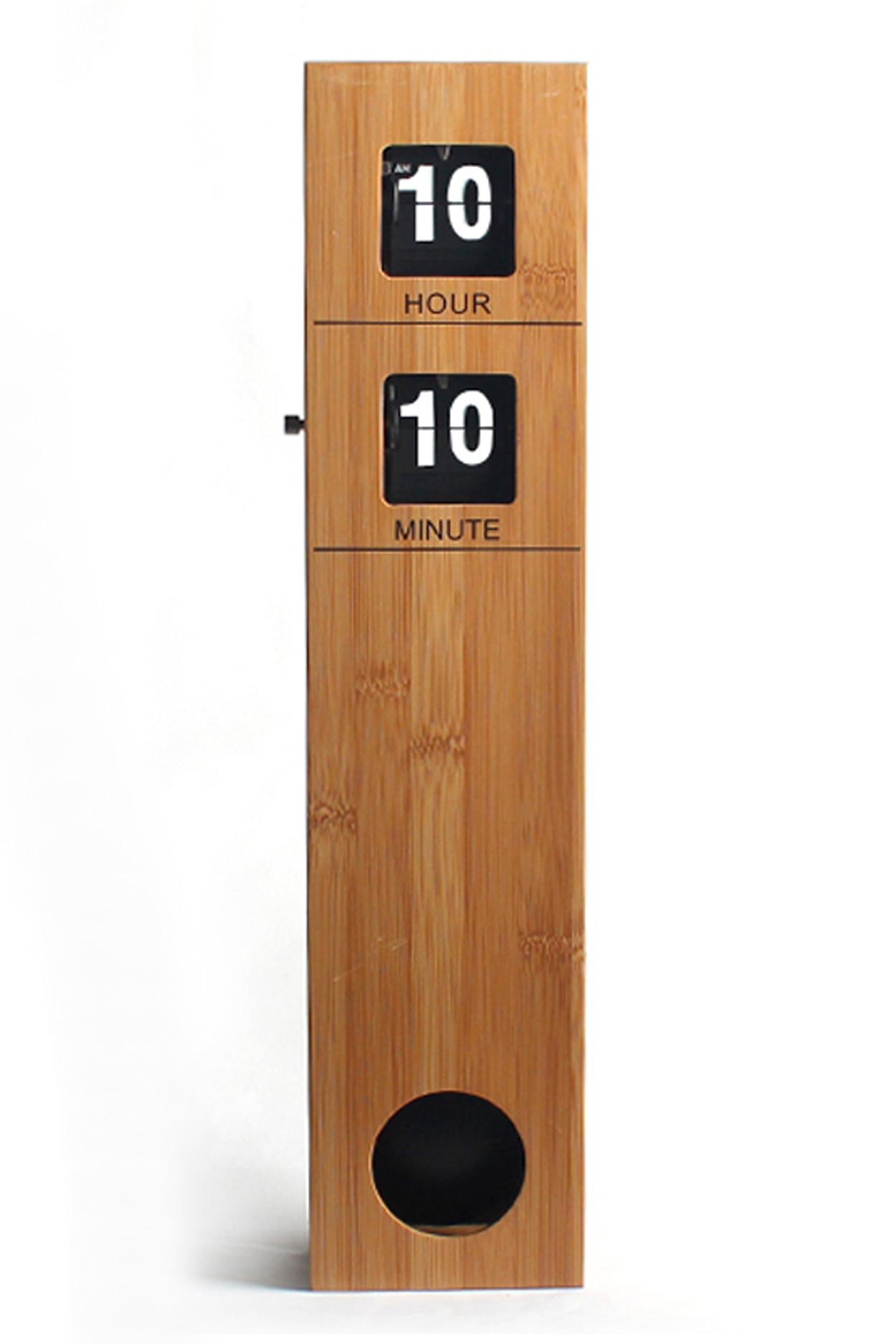 Вертикальные перекидные часы Flip Clock Pendulum с маятником (10.5×6×48 см)