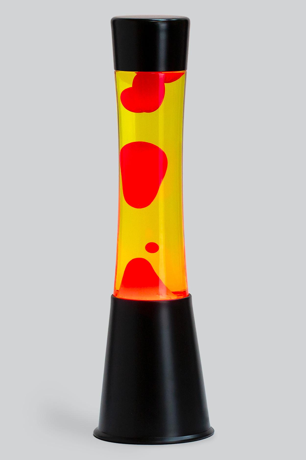 Лава-лампа 39см CG Красная/Желтая (Black)