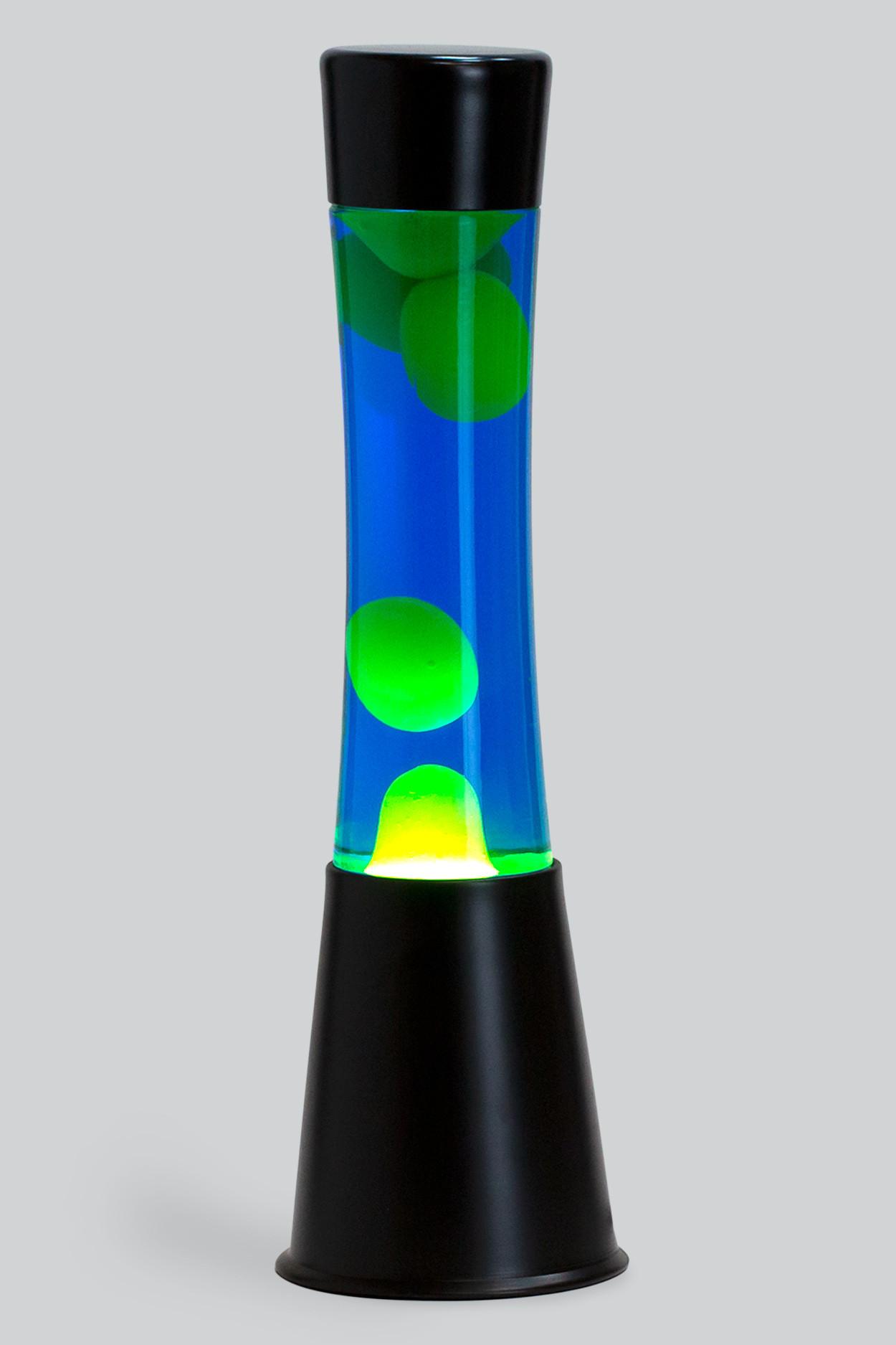 Лава-лампа 39см CG Желтая/Синяя (Black)