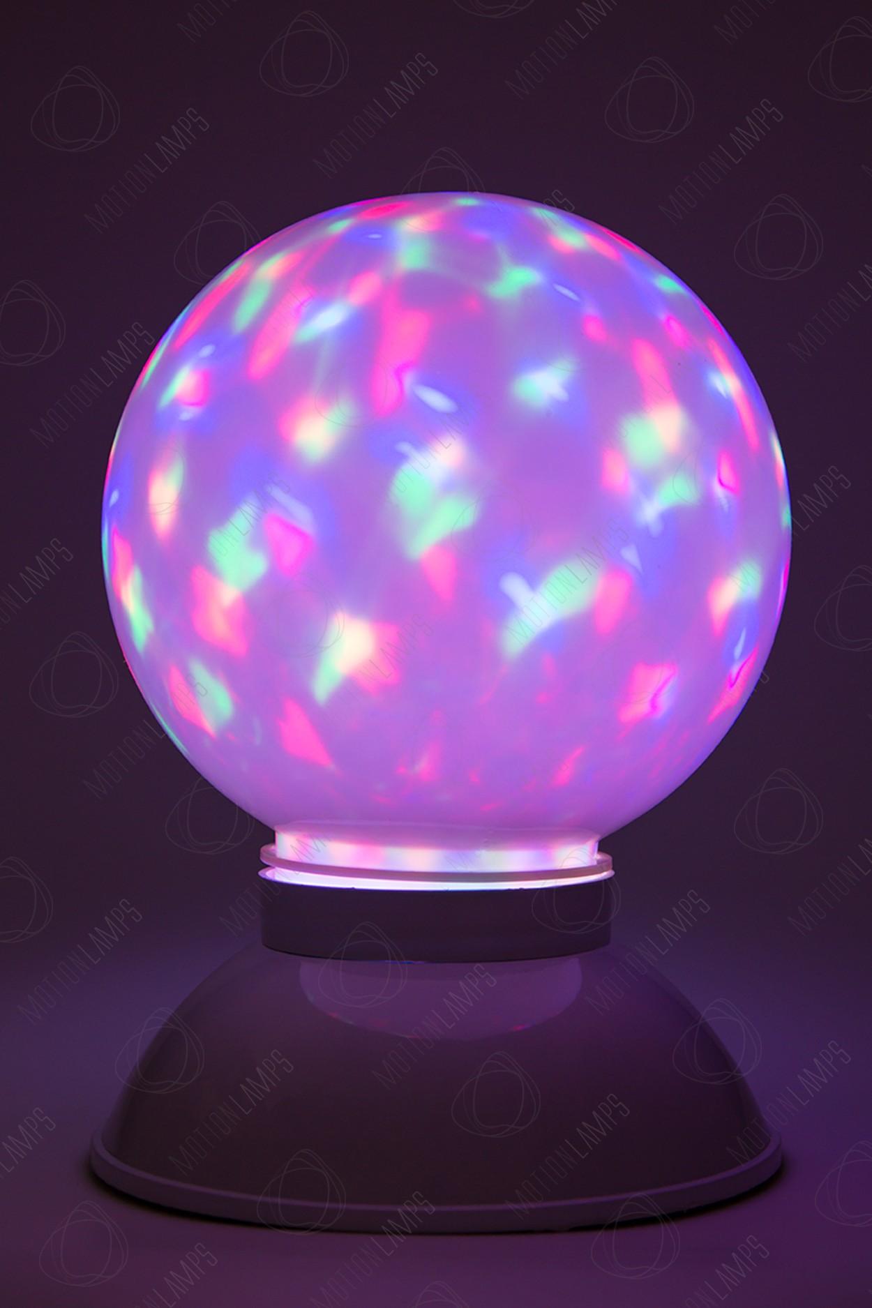 Светодиодный диско-шар LED WhiteBall (d - 19см)