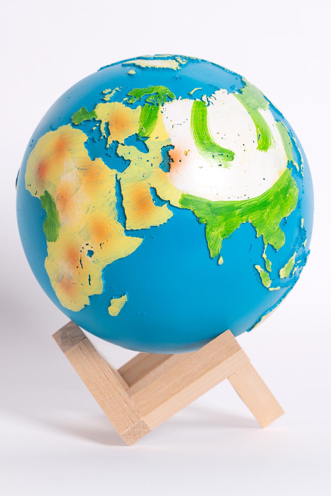 Светильник-ночник планета Земля 15 см