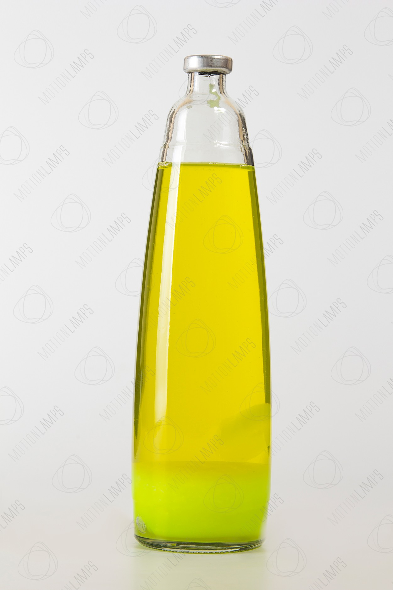 Колба для лава-лампы 35см Жёлтая/Жёлтая