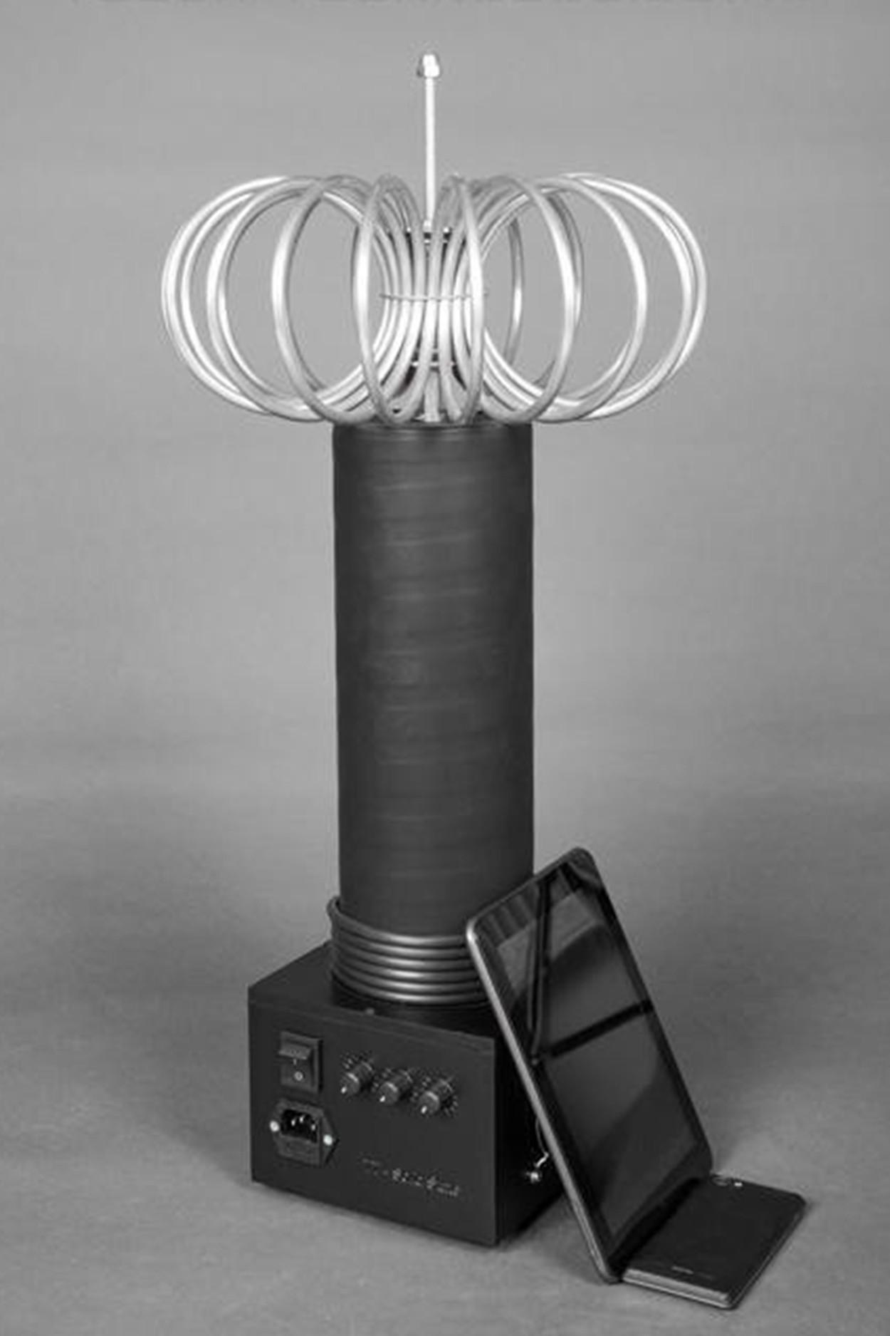 Катушка тесла TT-Light 60см с тороидом