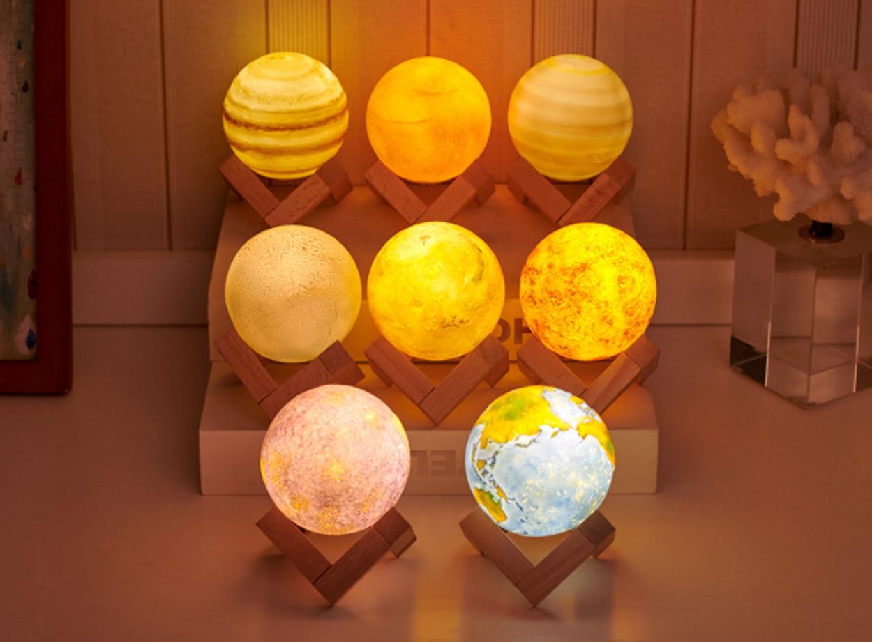 """Набор светящихся планет """"Большая Солнечная система"""""""